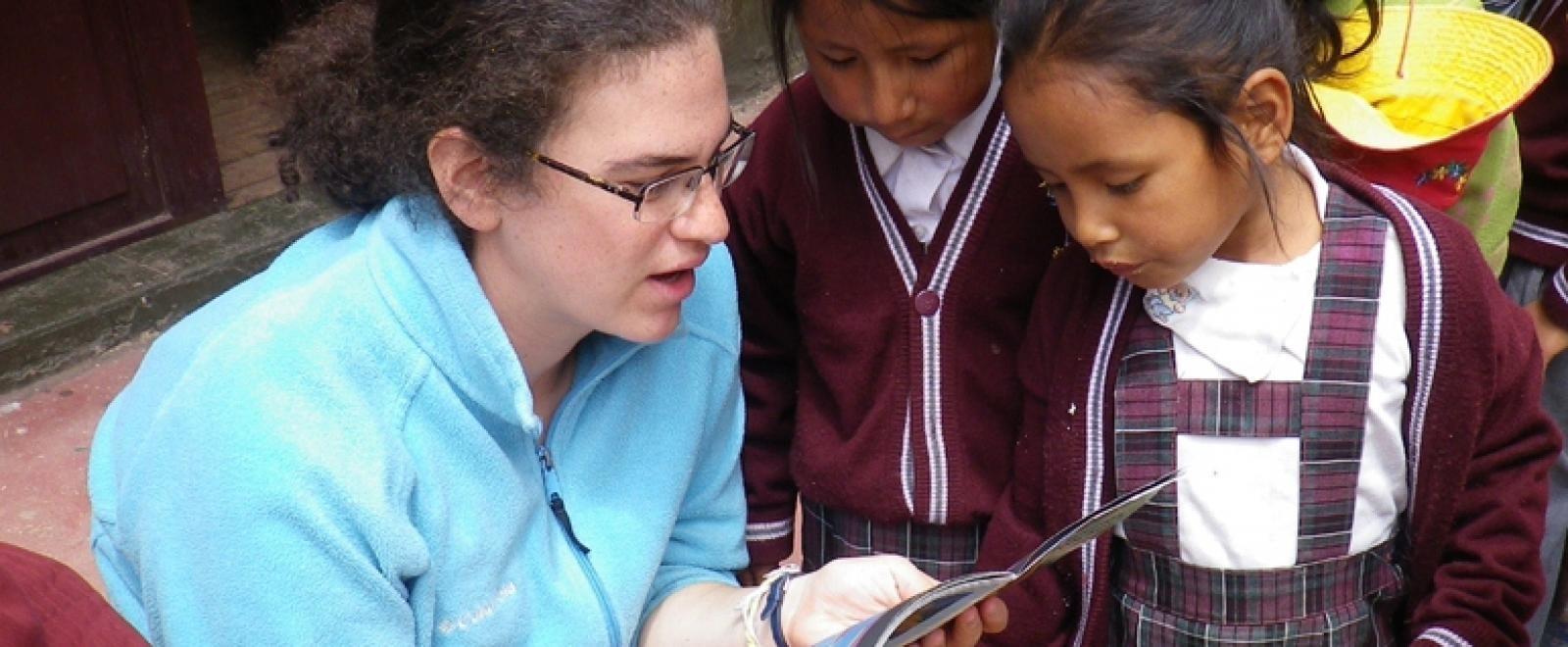 Abigail H in Peru